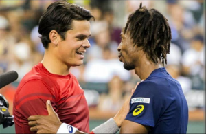 Tenis Turneul Campionilor. Milos Raonic vs Gael Monfils
