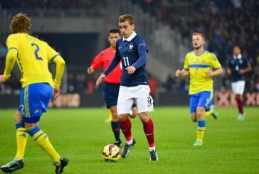 Franta vs Suedia, duelul pentru calificarea in Rusia, la CM 2018