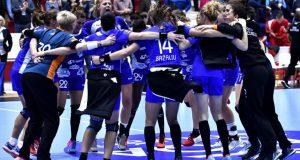 CSM Bucuresti vs Midtjylland, handbal feminin in Champions League
