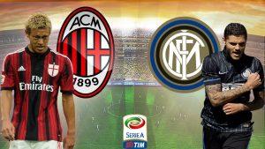 """Derby-ul Milan vs Inter din Italia, 77.000 de spectatori si incasari record pentru """"diavolii rosii"""""""
