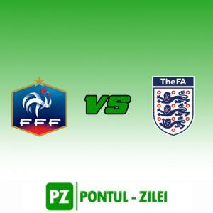 Franta U21 vs Anglia U21- Super amical intre juniori!