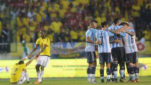 Argentina vs Columbia - Sete de victorie
