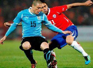 Chile vs Uruguay - Lupta incinsa pentru calificare