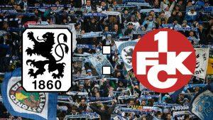 Munchen 1860 vs Kaiserslautern - Se incing spiritele intre prieteni