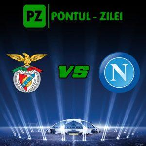 Benfica vs Napoli - Duel pentru calificare in Grupa B!