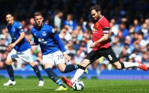 Everton vs Manchester United. Rooney se intoarce acasa.