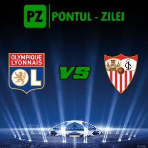 Olympique Lyon vs FC Sevilla - Duel pentru locul 2 in Grupa H!