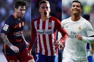 Cel mai bun jucator din lume in 2016: Messi, Ronaldo sau Griezmann?