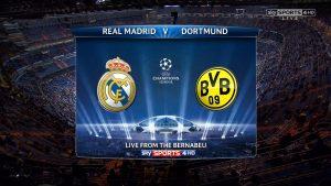 Real Madrid vs Dortmund – Sanse mari de tot la o cota de 3.90!