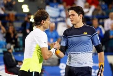 Tenis masculin Brisbane Raonic vs Schwartzman si Nadal vs M. Zverev