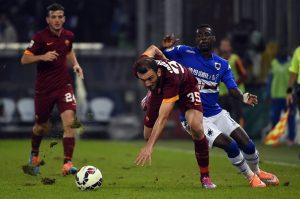 Sampdoria vs AS Roma.Meci dificil pentru romani pe Luigi Ferraris
