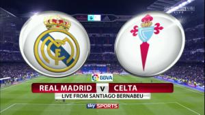 Real Madrid vs Celta Vigo - Fa profit pe pofta de revansa a galacticilor!