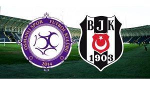 Osmanlispor vs Besiktas - Meci TARE in Super Liga!