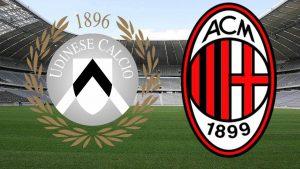 Udinese vs AC Milan - Meci dificil pentru milanezi!