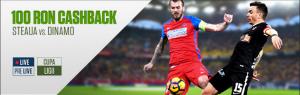 Primesti banii inapoi daca pierzi pe Steaua vs Dinamo