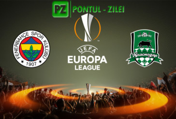 Fenerbahce vs Krasnodar – Meci incins in Europa League!