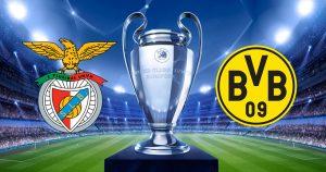 Benfica vs Borussia Dortmund - Lusitanii nu pierd, la o cota de 1.55