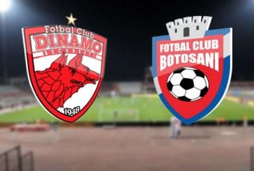 Dinamo vs FC Botosani – Revansa cainilor iti baga bani in cont