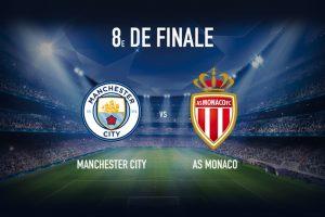 Manchester City vs Monaco - Fa bani cu o cota de 2.45