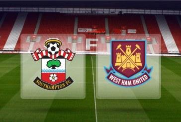 Southampton vs West Ham – Cota 1.80 pentru egal la pauza sau la final