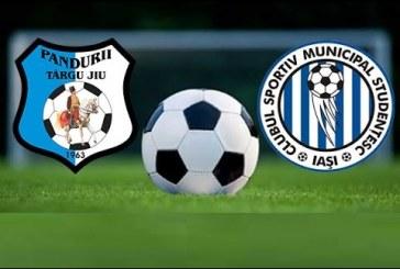 Pandurii Targu Jiu vs CSM Iasi – Primul meci din Liga 1 in 2017!