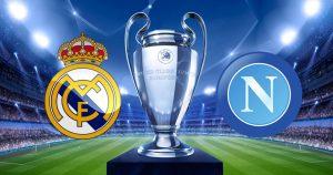 Real Madrid vs Napoli - pariati pe o cota de 2.85!