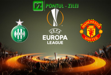 Saint-Etienne vs Manchester United – Meci tare in Europa League!