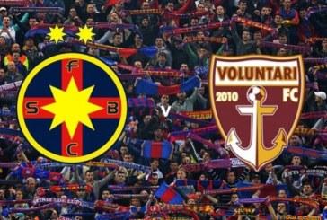 FC Steaua Bucuresti vs FC Voluntari – Sansa pentru Ros-Albastri!