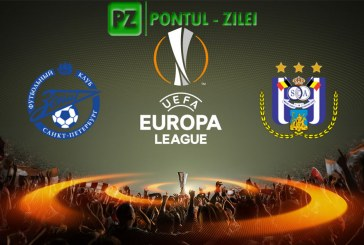 Zenit Petersburg vs Anderlecht – Duel romanesc in Europa League!