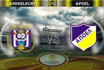 Anderlecht vs APOEL – Belgienii sunt cu un pas in sferturi!