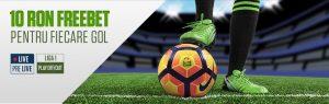 10 RON Pentru fiecare Gol din Liga 1!