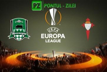Krasnodar vs Celta Vigo – Meci dificil pentru spanioli!