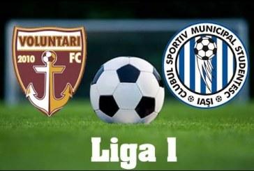 FC Voluntari vs CSM Poli Iasi – Repetitie pentru play-out!
