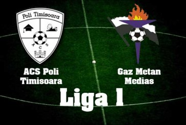 ACS Poli Timisoara vs Gaz Metan Medias – Meci echilibrat in play-out!