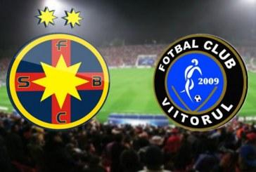 FCSB vs FC Viitorul – Duel pentru titlu!