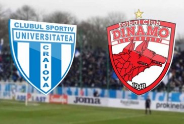 Dinamo are o cota superba la victorie cu CS U Craiova!