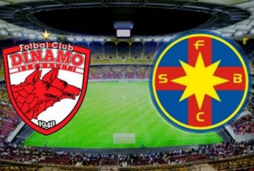 Dinamo vs FCSB, super cote pariuri si istoricul intalnirilor