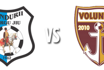 Pandurii Tg. Jiu vs FC Voluntari – Oaspetii si golurile putine fac toti banii