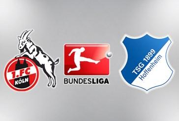 Koln vs Hoffenheim – Incepem etapa din Bundesliga cu trei cote la siguranta