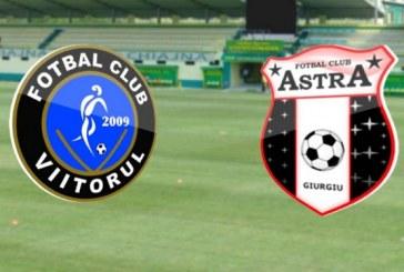 Viitorul vs Astra Giurgiu – Iti dublezi investitia usor, cu doua goluri de Viitor