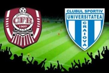 CFR Cluj vs CS U Craiova – Fa bani cu doua cote care iti dubleaza investitia