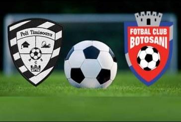 ACS Poli Timisoara vs FC Botosani – Cote bune si multi bani!