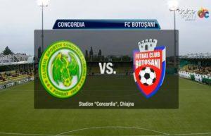 Concordia Chiajna vs FC Botosani - Pune pe trei ponturi la siguranta