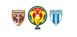 FC Voluntari vs CS U Craiova - Ti-am pregatit trei ponturi tari pentru a doua semifinala din Cupa Romaniei