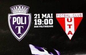 ASU Poli Timisoara vs UTA Batrana Doamna - Vezi cotele speciale pentru victorie in Derby-ul Vestului