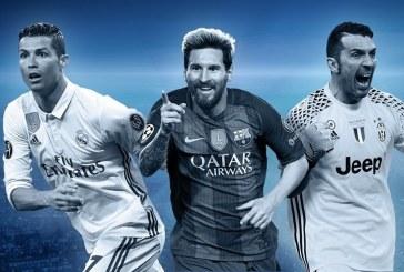 Echipa sezonului din UEFA Champions League – Cei mai buni 18 jucatori