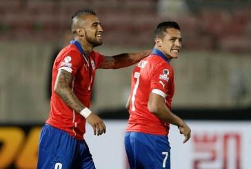 Nationala din Chile vine cu vedetele Alexis Sanchez si Vidal la partida cu Romania