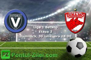 FC Viitorul vs Dinamo Bucuresti - Meci incins la Ovidiu!