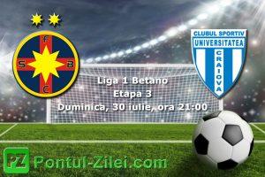 FCSB vs CS U Craiova - Un nou test pentru Nicolae Dica!