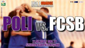 ACS Poli vs FCSB - Trei ponturi si cote peste 1.70 la derby-ul de la Timisoara